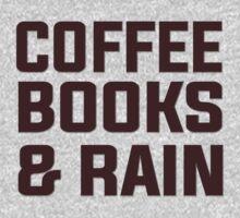 Coffee books & rain by masonsummer