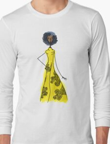 Dressed in Yellow Long Sleeve T-Shirt