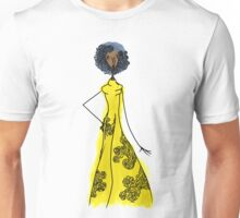 Dressed in Yellow Unisex T-Shirt