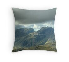 The Top Of England Throw Pillow