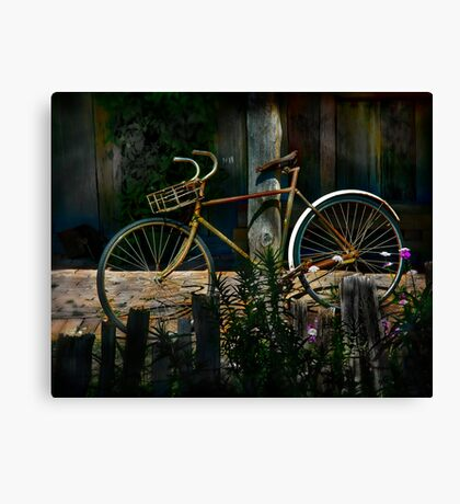 The Queen of Bicycles Canvas Print