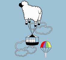 Jump the Sheep Ship. Unisex T-Shirt