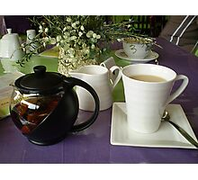 Time for a cuppa - Mornington Bus Trip Photographic Print