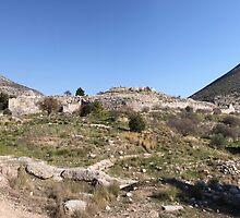 Mycenae Acropolis by Emma Holmes