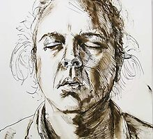 Face 3 (Selfportrait) by Jan Esmann