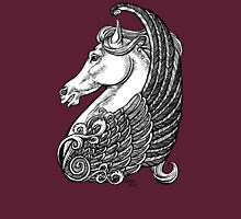 Pegasus or simply horse with wings.  Unisex T-Shirt