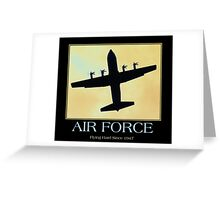 Air Force Greeting Card