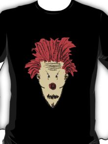 Evil Clown Hand Draw Illustration T-Shirt