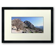 Delphi Framed Print