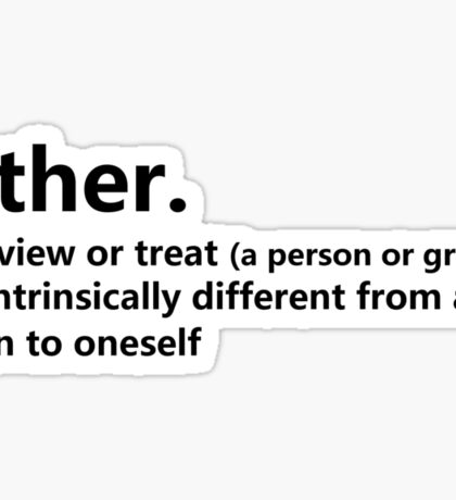 Dictionary Collection - Other Sticker