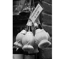 Chianti Bottles Photographic Print