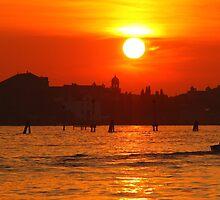 Venetian Sunset by Emma Holmes