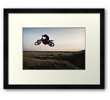 Motor X closeup Framed Print