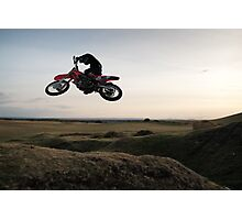 Motor X closeup Photographic Print