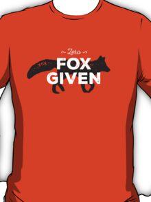 Zero Fox Given T-Shirt