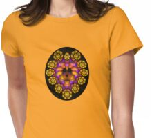 The Cowardly But Colorful Lion Womens Fitted T-Shirt