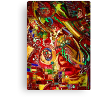 Psychedelic Daydream Canvas Print
