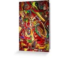 Psychedelic Daydream Greeting Card