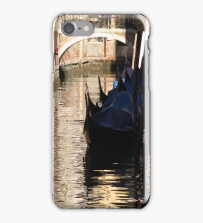 Gondola Waiting  iPhone Case/Skin