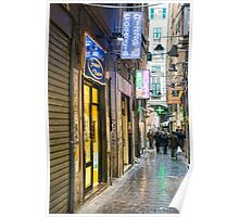 Alleys of Genoa 1 Poster