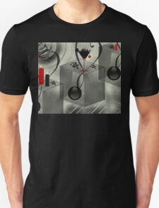 Black and white-  Art + Products Design  T-Shirt
