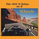 The View is Better on 2 Wheels by Kathy Weaver
