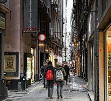 Alleys of Genoa 4 by oreundici