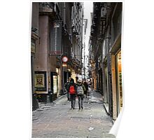 Alleys of Genoa 4 Poster