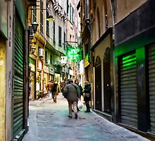 Alleys of Genoa 5 by oreundici