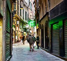 Alleys of Genoa 5 by oreundici