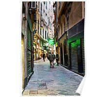 Alleys of Genoa 5 Poster