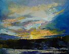 Winter Sunset by Michael Creese