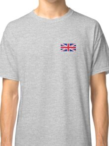 Flag of Great Britain - UK Flag Duvet Cover Sticker and Shirt Classic T-Shirt