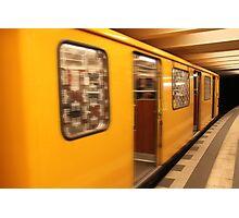 U-Bahn Photographic Print