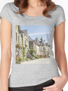 One Summer's Day Women's Fitted Scoop T-Shirt