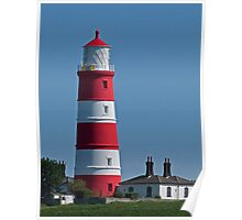 The Lighthouse, Happisburgh, Norfolk Poster