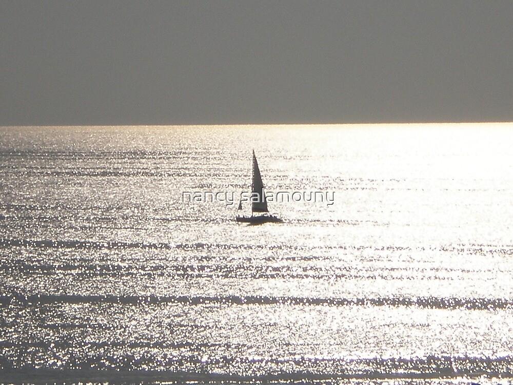 Sailing by nancy salamouny
