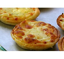 Cheese Pastry Photographic Print