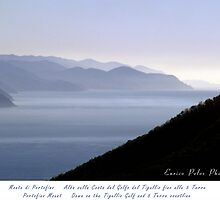 LIGURIA SEA LANDSCAPE Tigullio Coastline up to 5 Terre by Enrico Pelos