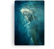 OCEANIC FAIRYTALES - Appearance of the mermaid Canvas Print