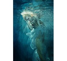 OCEANIC FAIRYTALES - Appearance of the mermaid Photographic Print