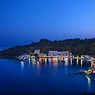 Blue hour in Loutro - Sfakia, Crete by Hercules Milas