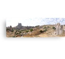 Uchisar Castle Metal Print