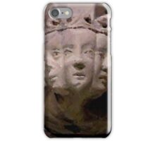 Medieval faces iPhone Case/Skin