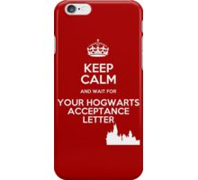 Keep Calm Hogwarts Letter iPhone Case/Skin