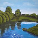 Boyne River  by Samuel Ruth