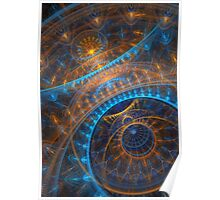 Steampunk Astronomical clock  Poster