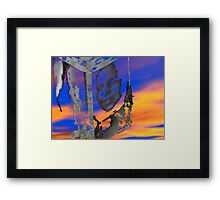 Alienation from the ego Framed Print