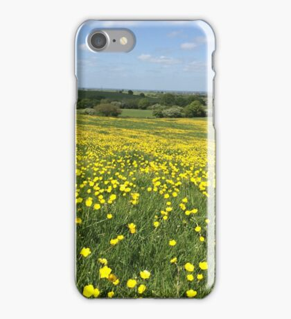 Buttercups Overlooking Oxford iPhone Case/Skin