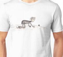Rags follows mouse. Unisex T-Shirt